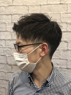【骨格矯正】アップバング 夏ショート 形状記憶パーマ