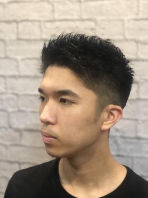 【短髪】【黒髪】 ベリーショートスタイル