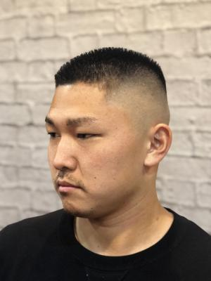 【barber style】ハイ刈り スキンフェード 坊主