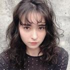 【簡単トレンドヘア】小顔カット+ダメージレスパーマ+ジアミン除去ケア