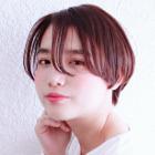 【お悩み解決◆好印象スタイル】小顔カット+前髪トリートメント縮毛