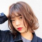 ≪2回目限定*≫【艶髪♪】小顔カット+カラー+トリートメント