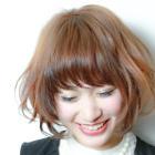 前髪カット+カラー+ハホニコトリートメント