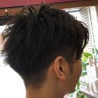 【men's】短髪カラー
