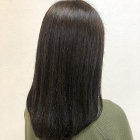 【大人気◎】カット+髪質改善つや髪ストレート+上質「プレミーク」トリートメント