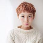 【平日限定 感謝祭】極潤カラー+似合わせ小顔カット