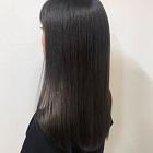 艶髪カット+縮毛矯正+Aujuaトリートメント