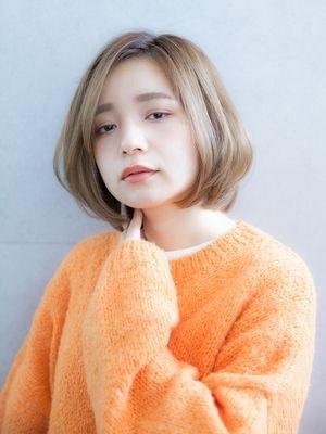 【◎ショートヘア】大人かわいい小顔フレンチボブ