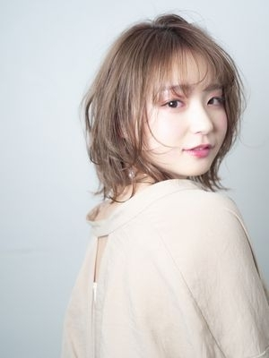 【◎外ハネボブ】大人かわいいゆるふわスタイル
