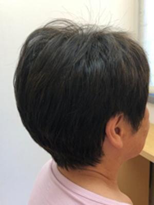 【白髪染めで美髪】熟成ヘナと立体カットで~トップふんわり~1