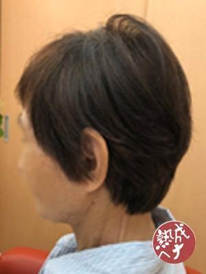 【白髪染めで美髪】熟成ヘナと立体カットで~トップふんわり~2