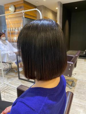 髪質改善/20代/30代/40代/大人ロング/黒髪