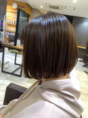 【西宮/髪質改善/イルミナカラー/インナーカラー/白髪染め】