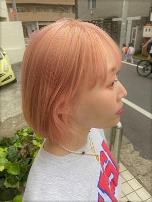 ピンクピンクカラー