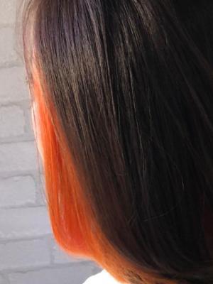 インナーカラー★オレンジ