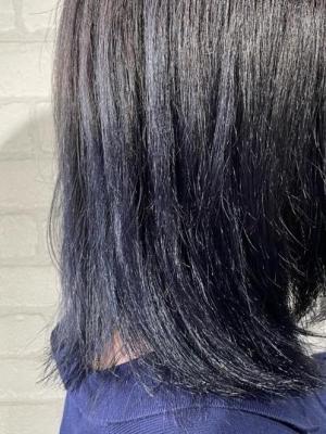 【ブルーブラック】グラデーションカラー
