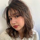 《平日限定》デザインカット+透明感カラー+美髪ハホニコ3stepTR 6,500円