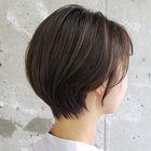 前髪、顔周りのポイント縮毛矯正+小顔カット 6,900円