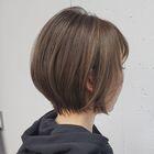 ダメージレス縮毛矯正+カット+潤艶ハホニコ3stepTR