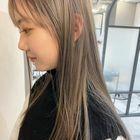 小顔カット+透明感カラー+髪質改善TOKIO5stepTR