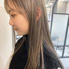 【MAISON】  似合わせカット+透明感カラー+ハホニコ3step 6,500円