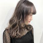 【女性限定】パーマ+艶カラー(リタッチ)+カット
