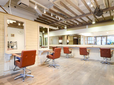 HairGarden StrawberryFields RedDoor 与野店