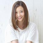 【髪質改善】小顔カット+organicカラー+ハホニコTR