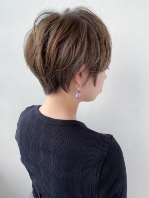 【feliceMICHI野田屋町店】小顔ベリーショート