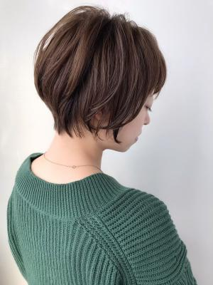 【feliceMICHI野田屋町店】大人可愛い小顔ショート