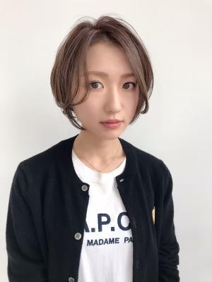 【feliceMICHI野田屋町店】大人可愛い耳かけショート