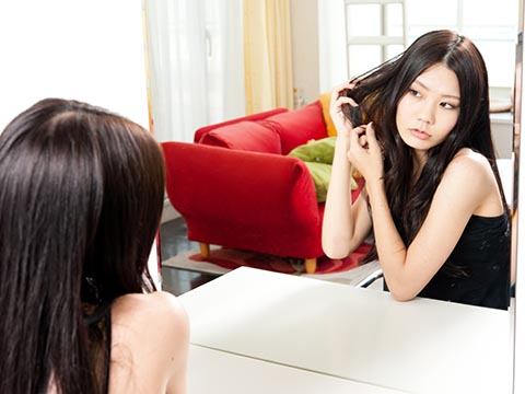 くせ毛を活かしたヘアアレンジ方法