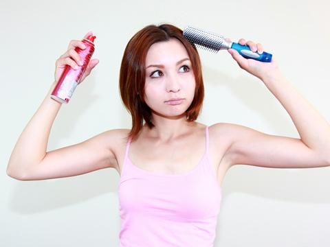 薄毛をカバーするヘアスタイル