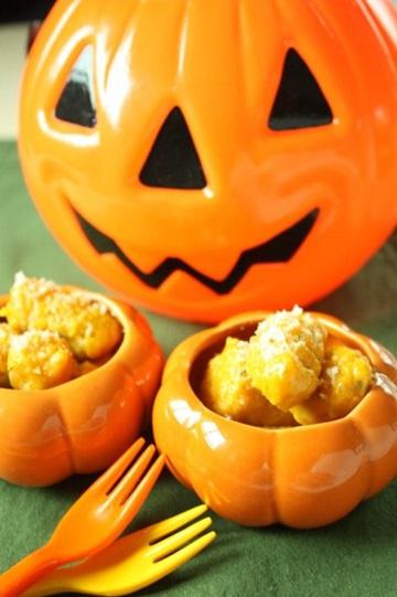 ハロウィンを楽しみながら美髪に!「かぼちゃのニョッキ」