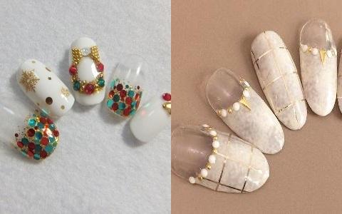 今年こそ試したい!クリスマスにぴったりの冬ネイル♪