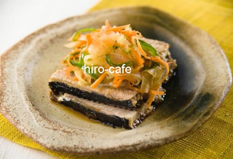 旬の季節!DHAたっぷり「秋刀魚の野菜南蛮」で美髪に!