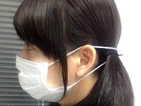 マスクをかけても耳が痛くならない裏ワザ