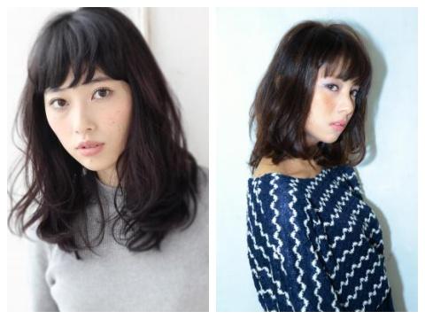 【2015年】今年も人気!黒髪×パーマ・カールのセミディスタイル