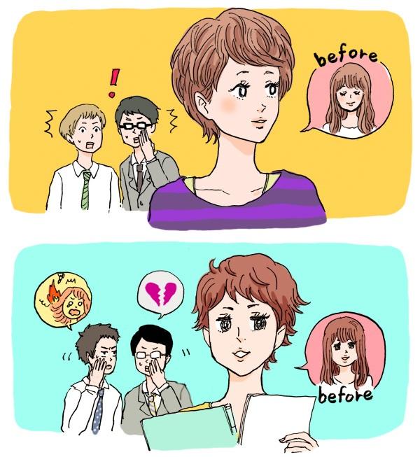男にはわからない!女性が突然髪を切る、失恋以外の4つの理由