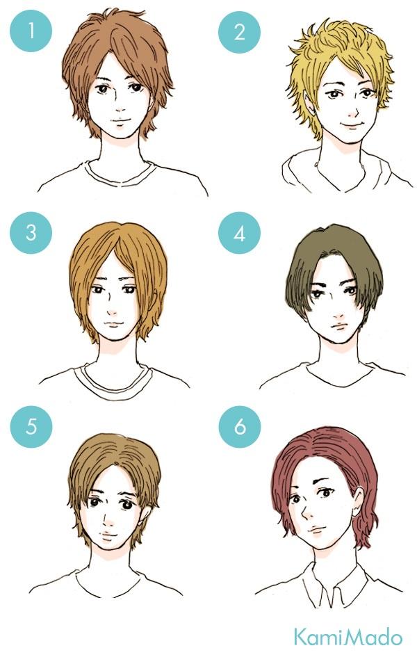【メンズ】貴方にピッタリの前髪はコレ!【イラスト付き】
