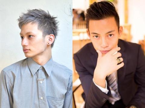 【メンズ】本田VS中田!?ベリーショートヘア☆エース対決♪