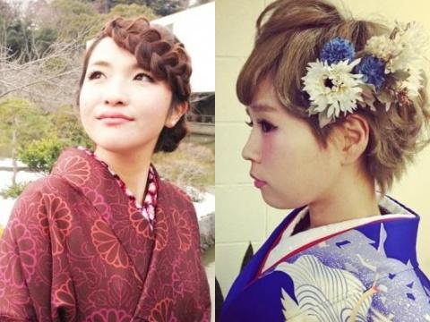 【2015年】卒業式に使える♪和洋折衷外国人風アレンジ☆