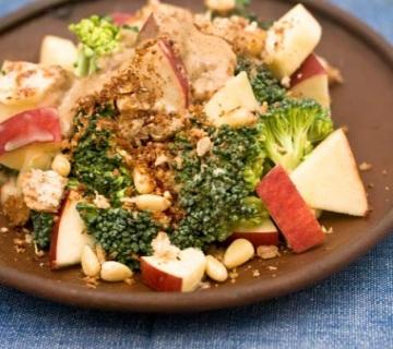 健康と綺麗をサポート!りんごを使ったヘルシーなサラダレシピ