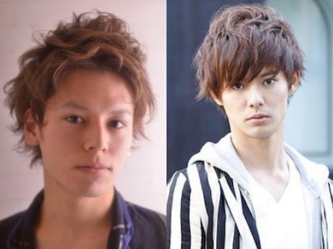 【メンズ】オシャレ男子決定版!外国人風の透明春色カラー