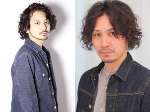 【モテ髪型】メンズ☆ワイルド&セクシーなミディアムパーマスタイル