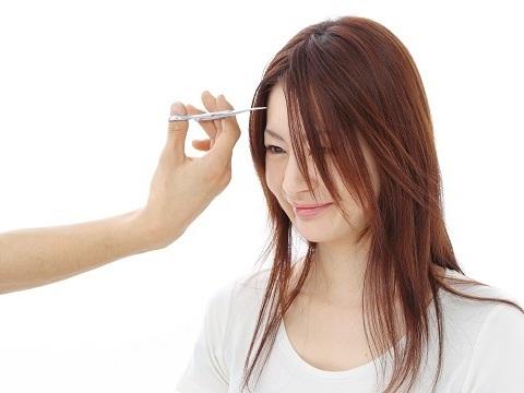 産後の抜け毛対策☆気になりだしたら前髪を作ろう♪