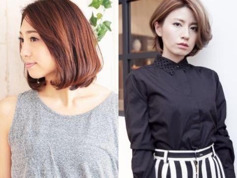 【最新髪型】40代の若見えボブカタログ