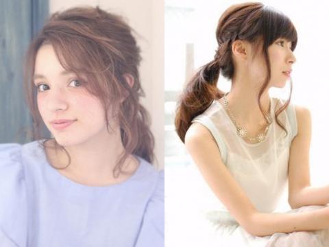 【ヘアアレンジ】色っぽさUP!この夏はあえての「後れ毛」がかわいい!